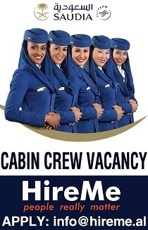 Apply Saudia Cabin Crew Vacancy